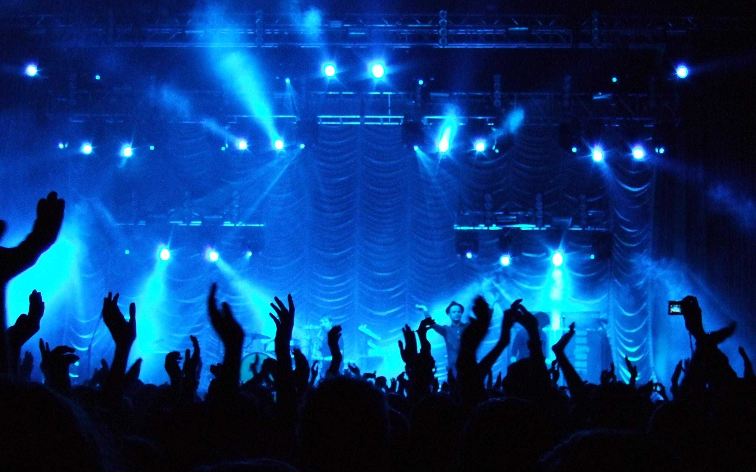 Pop Music & Prayer | Jackie & Bobby Rock Band Silhouette