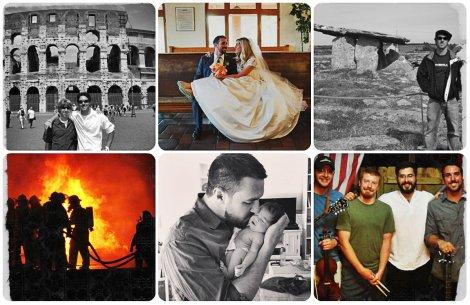 twenties collage