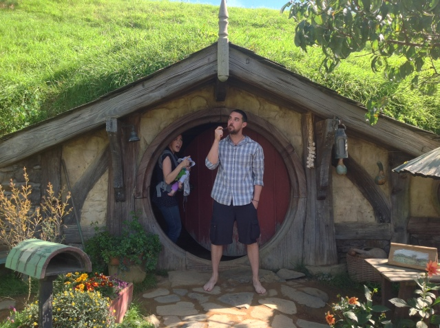 Pretending to be Hobbits