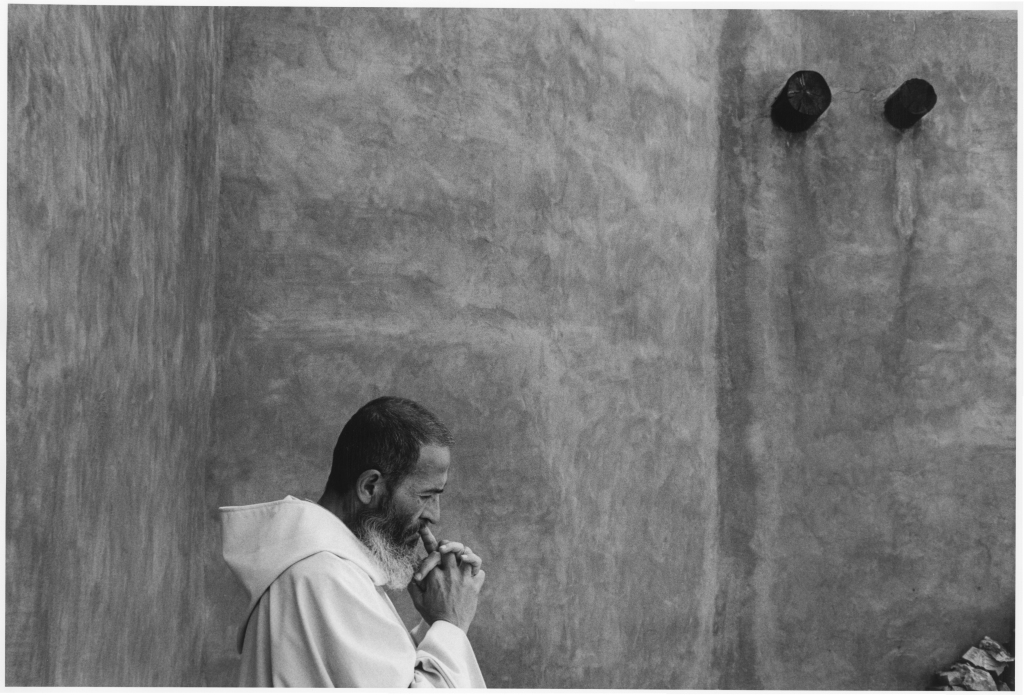 """A Quiet Moment."" Monastery of Christ in the Desert, Abiquiu, NM"